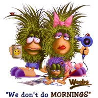 Колючки: We don't do mornings
